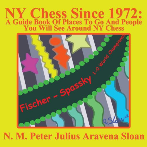 NY Chess Since 1972 audiobook cover art