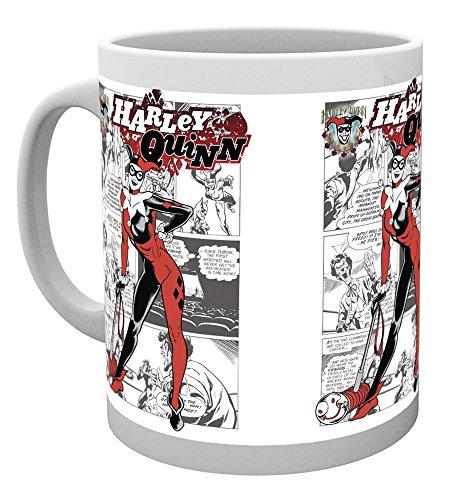 GB eye LTD, Batman Comic, Harley Quinn Comic, Taza