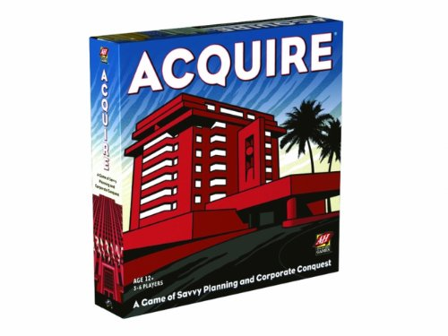 Hasbro/Wizards of t.Coast [Import Anglais] Acquire Board Game