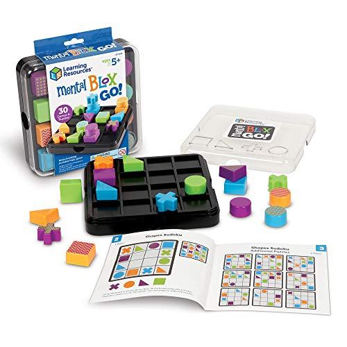 Learning Resources- Juego de Bloques Mental Blox Go, Color (LER9286) , color/modelo surtido