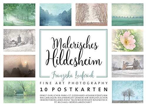 Postkarten-Set: Malerisches Hildesheim