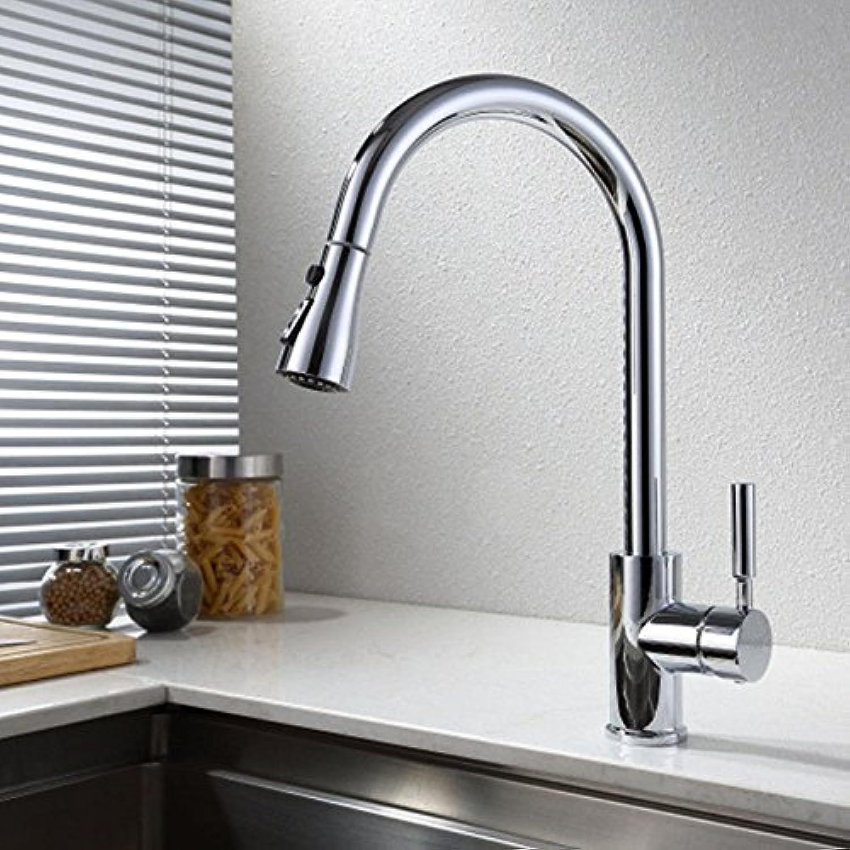 Gyps Faucet Waschtisch-Einhebelmischer Waschtischarmatur BadarmaturRotierende heie und kalte Küche Wasserhahn Pull-down-Draht Schale Waschbecken Mischbatterie J,Mischbatterie Waschbecken