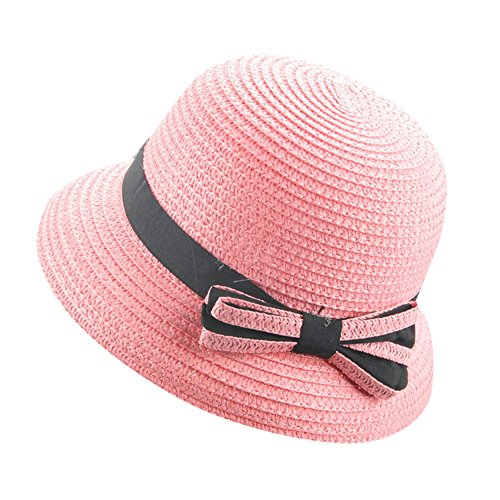 pingtr Sombrero del bebé niña y niño,Sombrero de Paja el...