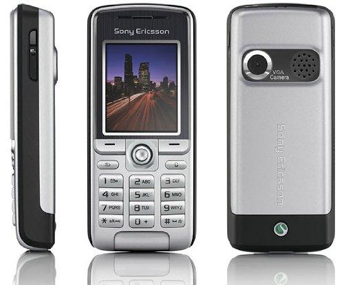 Handy Sony Ericsson k320i Misty Silver Ohne Branding Ohne Simlock