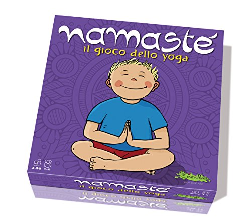CreativaMente- Namasté Yoga-Gioco in Scatola, 226