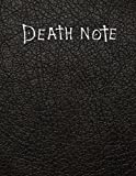 Death Note: Notebook with Rules | Death Note Journal with Rules | Write Down your Thoughts | Daily Notes | To-Do Lists | Death Note Cover Notebook | ... | Handy 8.5' x 11' Size | Great Gift Idea