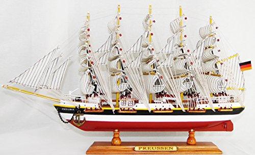 "Schiffsmodell ""Preussen"" 50x9x31 cm / Standmodell / Segelschiff / Modellsegelschiff / Traditionssegler"