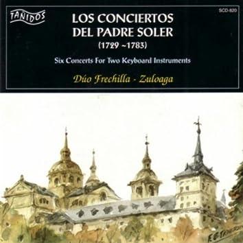 Padre Antonio Soler: Los Conciertos Del Padre Soler  (1729 - 1783) (Six Concerts for two Keyboards Instruments)