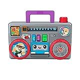 Fisher-Price GYC11 - Lernspaß Boombox Lernspielzeug, deutschsprachig, musikalisches Spielzeug für Babys und Kleinkinder, Spielzeug ab 6