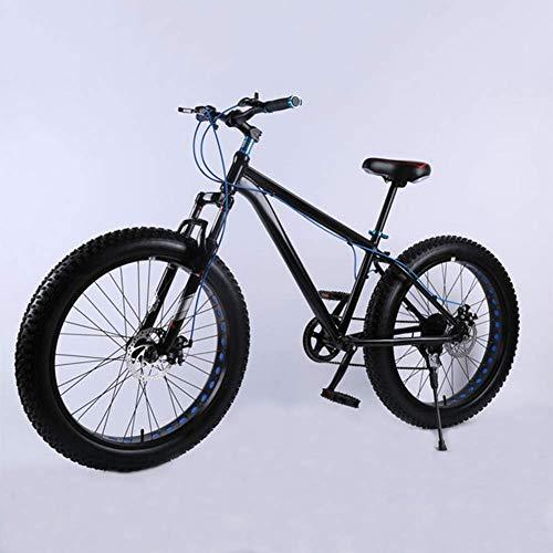 YQ 26 Pulgadas Super Ancho Neumático Motos De Nieve Amortiguador De Bicicletas De Aleación De Aluminio Velocidad Bicicleta De Montaña Frenos De Disco,C