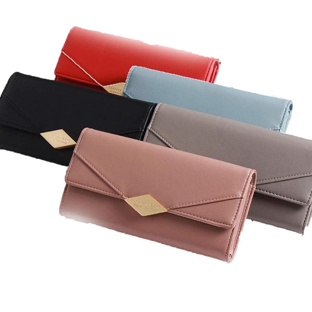 重要な根絶する泣き叫ぶハンドバッグの女性のバッグの韓国の女性の財布の長さの折りたたみ式の携帯電話バッグ3つの大容量