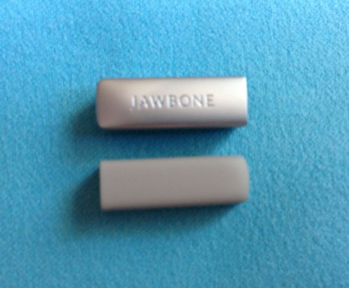 2pcs Replacement Light Grey End Caps Covers for Jawbone UP 2 2nd Gen 2.0 Bracelet Band Cap Dust Protector (not for The 1st Gen)
