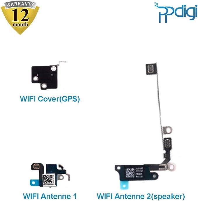 PPdigi WiFi WiFi antena GPS Cover para iPhone 5s/iPhone SE Bluetooth módulo de señal flexible amplificador (iPhone 5s/iPhone SE, antena WiFi + ...