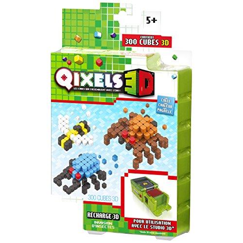Kanaï Kids–KK87052–Qixels 3D Invasion of Insects–Refill Pack