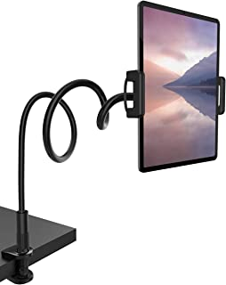 """Gooseneck Tablet Mount Holder for Bed - Lamicall Flexible Tablet Arm Clamp, Bed Stand for 4.7-11"""" Devices, Such as iPad Mi..."""