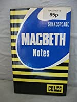Coles Notes William Shakespeare Macbeth - Questions and Answers 0774032111 Book Cover
