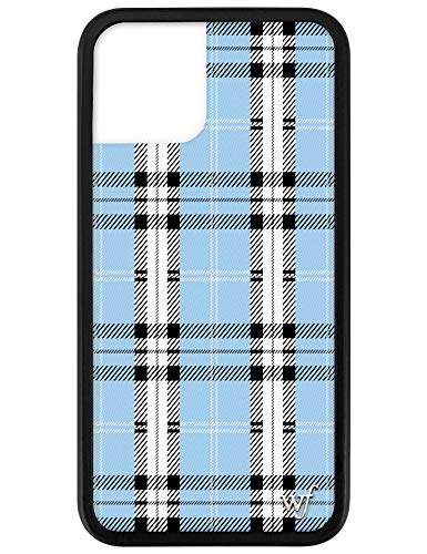 Wildflower Limited Edition Cases for iPhone 11 Pro (Blue Plaid)