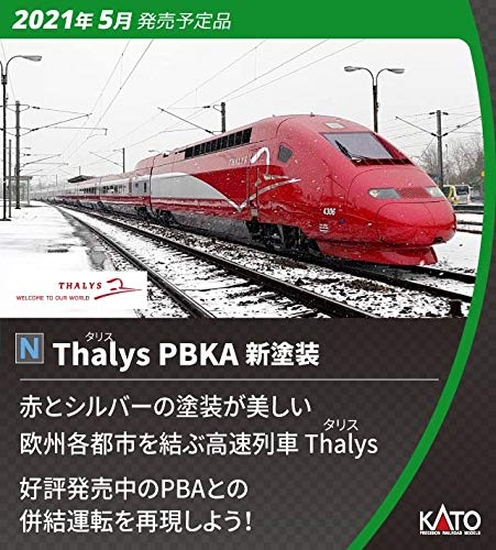 KATO Nゲージ Thalys タリス PBKA 新塗装 10両セット 10-1658 鉄道模型 電車