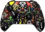 xbox 360 auto aim controller - 5000+ Modded Controller for Microsoft Xbox One - Works on All Shooter Games - Multiple Colors Available (Scary Party)