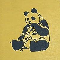 ステンシルシート パンダ 3サイズ型紙  (10cm)