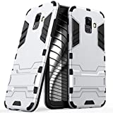 United Case Silver Armor Cover for Samsung Galaxy A6+Plus