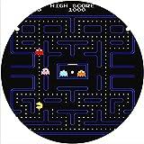 Slipmat Slip Mat Scratch Pad Felt for any 12' LP DJ Vinyl Turntable Record Player Custom Graphical - Pacman