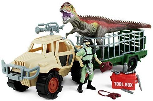 Boley Dinosaur Free shipping Explorer Play Set Toys - 13 Max 64% OFF wi Piece