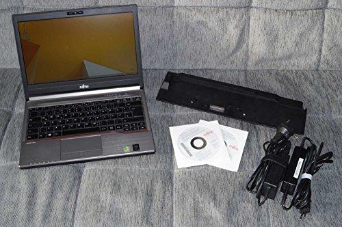Fujitsu LIFEBOOK E734 VFY:E7340M75ABDE 33,8 cm (13,3 Zoll) Laptop (Intel Core i5 4210M, 8GB RAM, 256GB SSD, DVD, Win 10 Pro) schwarz