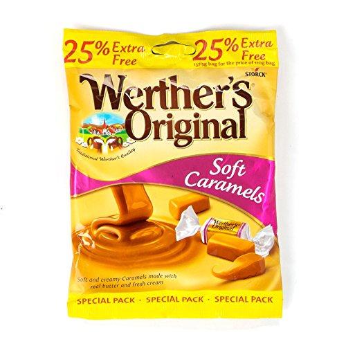Werthers Originals Soft Caramel 25% Extra 137,5 g (confezione da 24)