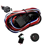 Eyourlife 12V 40A Off Road LED Light Bar On Off Power Switch Relay...