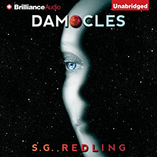 Damocles audiobook cover art