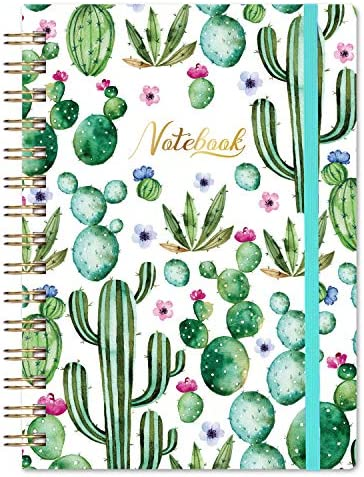 Ruled Notebook Journal Lined Journal 6 3 X 8 35 Hardcover Back Pocket Strong Twin Wire Binding product image