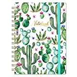 Ruled Notebook/Journal - Lined Journal, 6.3' X 8.35', Hardcover, Back Pocket, Strong Twin-Wire Binding with Premium Paper, College Ruled Spiral Notebook/Journal, Perfect for School, Office & Home
