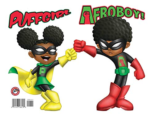 Afroboy And Puffgirl #1 VF/NM ; Reggie Byers comic book