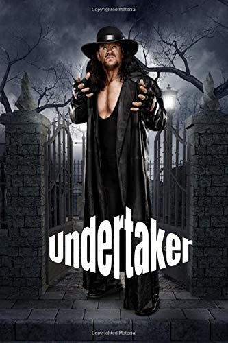 Undertaker bodybuilder: wwe : power of man show night Notebook size 6*9 110 pages Character Lined terrifier All Hallow's Eve tatoo big chest arms ... super Dead or Alive Double Feature Extrem