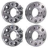 Ai CAR FUN Wheel Spacers 4 PCS 5 x4.5 (70.5 mm) 1.25 Inch Thick 1/2' Studs 5 Lug...