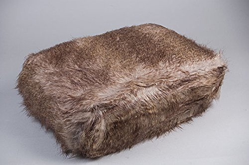 Plaid PU Fuchs gris130x 170cm Simla