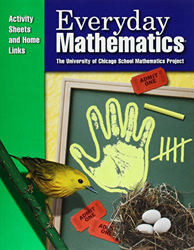 Everyday Mathematics / Grade K Consumable Activity Sheets and Home Links