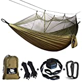 Best Camping Hammocks - Anyoo Camping Hammock with Net Nylon Parachute Ultra Review