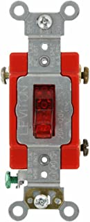Leviton 1221-PLR EMW3370145, Red