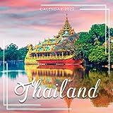 Thailand Calendar 2022: Calendar 2022 with 6 Months of 2021 Bonus