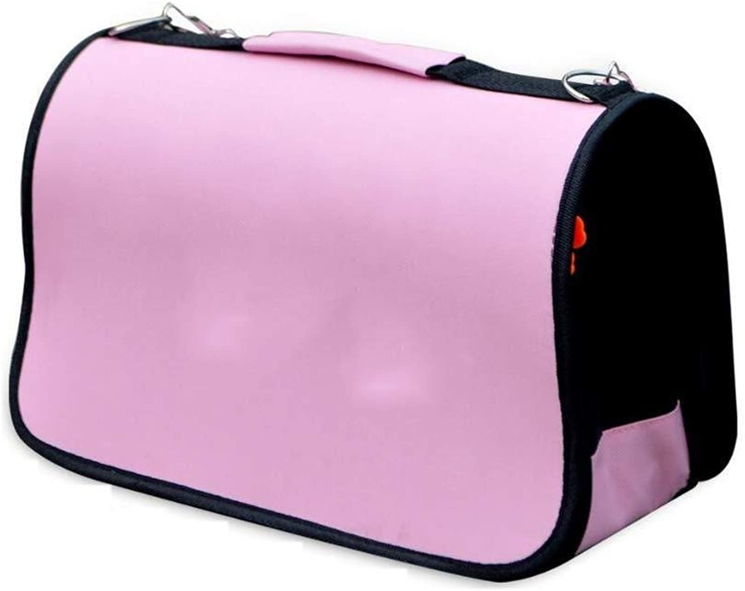 Pet Backpack Out Of The Foldable Portable Portable Pet Cage, Suitable For Cats, Dogs And Other Pets (pink)