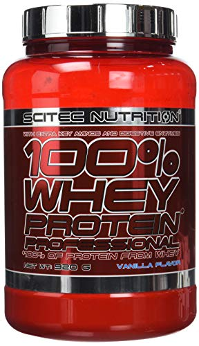 Scitec Nutrition PROTÉINE 100% Whey Protein Professional, vanille, 920 g