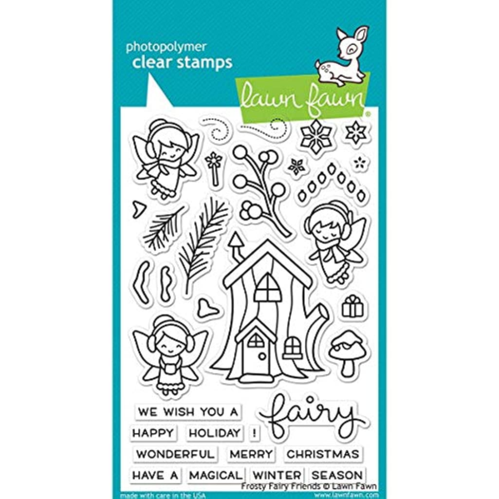 Lawn Fawn Clear Stamp Frosty Fairy Friends