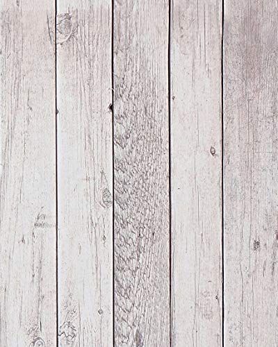 Distressed Wood Wallpaper Reclaimed Wood Paper Self Adhesive Wallpaper Removable Wallpaper Stick and Peel Wood Plank Wallpaper Rustic Wood Look Wallpaper Vinyl Faux Wallpaper Roll 17.7'x78.7'
