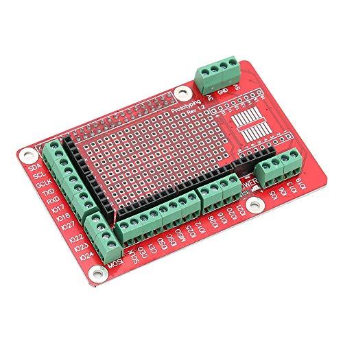 Rodipu Placa de expansión, módulo de protección, Accesorios informáticos para Raspberry Pi 4B / 3B
