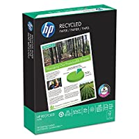HP 11210-0 Office Recycled Paper- 92 Brightness- 20lb- 8-1/2 x 11- White- 5000 Shts/Ctn