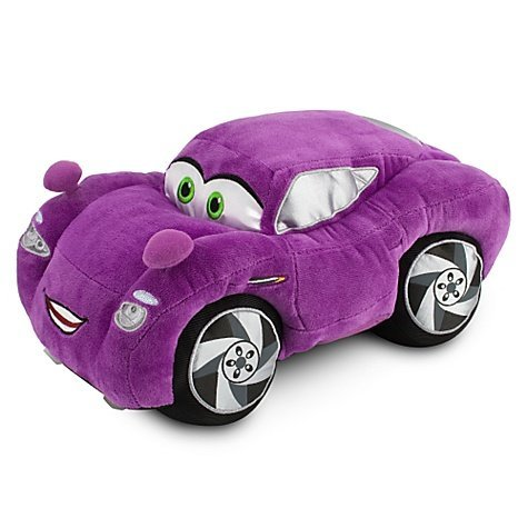 Disney Cars 2 E Holley Shiftwell ( Holy Shift Well) 13 inches Plush Toy