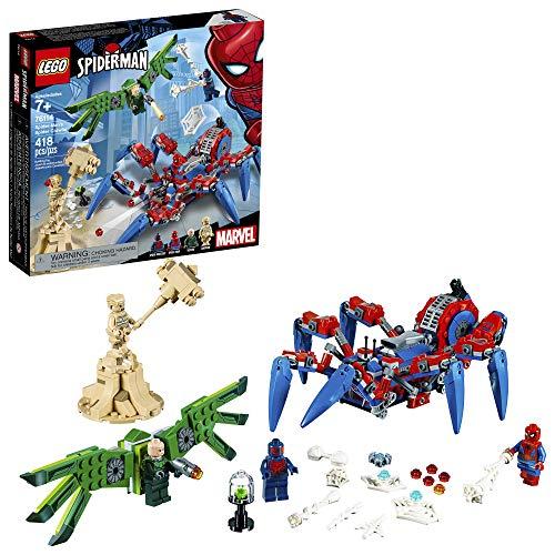 LEGO Marvel Spider-Man: Spider-Man?s Spider Crawler 76114 Building Kit (418 Pieces)