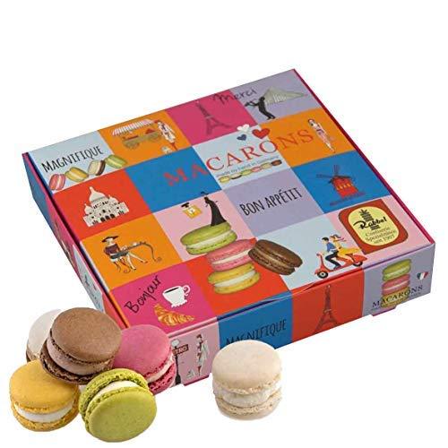 Präsentpackung 'Macarons Paris', Manufakturqualität!, handgefertigt von den Konditoren der Confiserie Rabbel...für ein Lächeln mehr am Tag